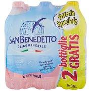 San Benedetto Acqua Minerale Benedicta Naturale 0,5l (4+2)