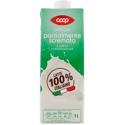 Coop Latte Uht Parzialmente Scremato a Lunga Conservazione
