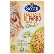 Riso Scotti Fantasia di Farro e Benessere con Lenticchie