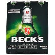 Beck's Beck's Birra Pilsner Tedesca Bottiglia 6x27,5cl