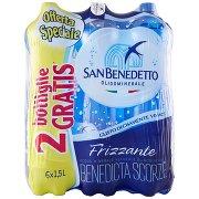 San Benedetto Acqua Minerale Benedicta Frizzante 1,5l (4+2)