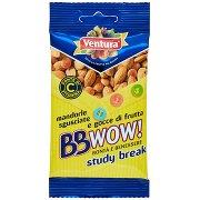 Ventura Bbwow! Study Break Mandorle Sgusciate e Gocce di Frutta