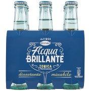 Recoaro Acqua Brillante Bibita Gassata, Acqua Tonica 20cl x 6