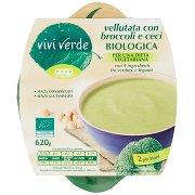 Vivi Verde Vellutata con Broccoli e Ceci Biologica