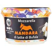 Mandara Mozzarella di Latte di Bufala Bocconcini 300 g Vasetto