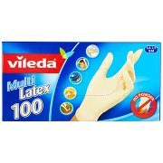Vileda Guanti Multi Latex 6,5-7,5 S/m 100 Pz