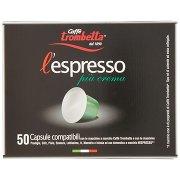 Caffè Trombetta L'espresso Più Crema Capsule 50 Pz