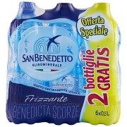 San Benedetto Acqua Minerale Benedicta Frizzante 0,5l (4+2)