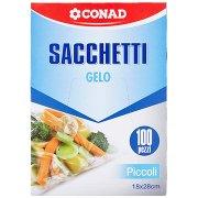 Conad Sacchetti Gelo Piccoli 18x28cm