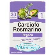 Laboratoires Vitarmonyl Carciofo Rosmarino Fegato 30 Compresse 42,3 g