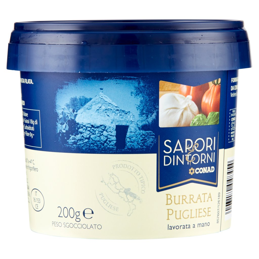 Sapori & Dintorni Conad Burrata Pugliese 200 g