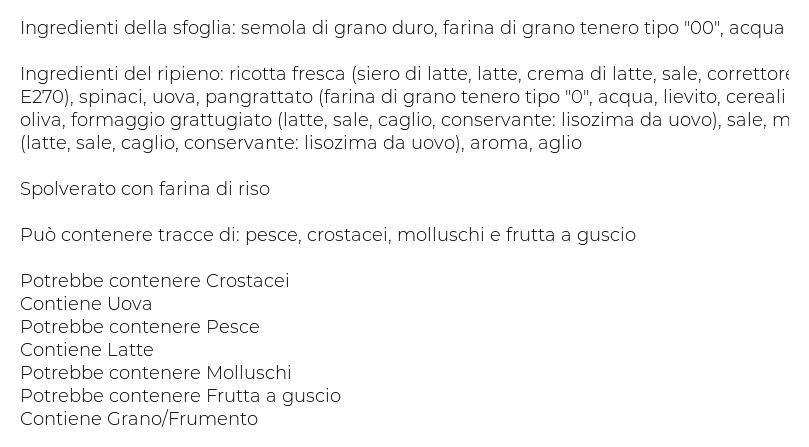Stemarpast Pansoti alla Ligure