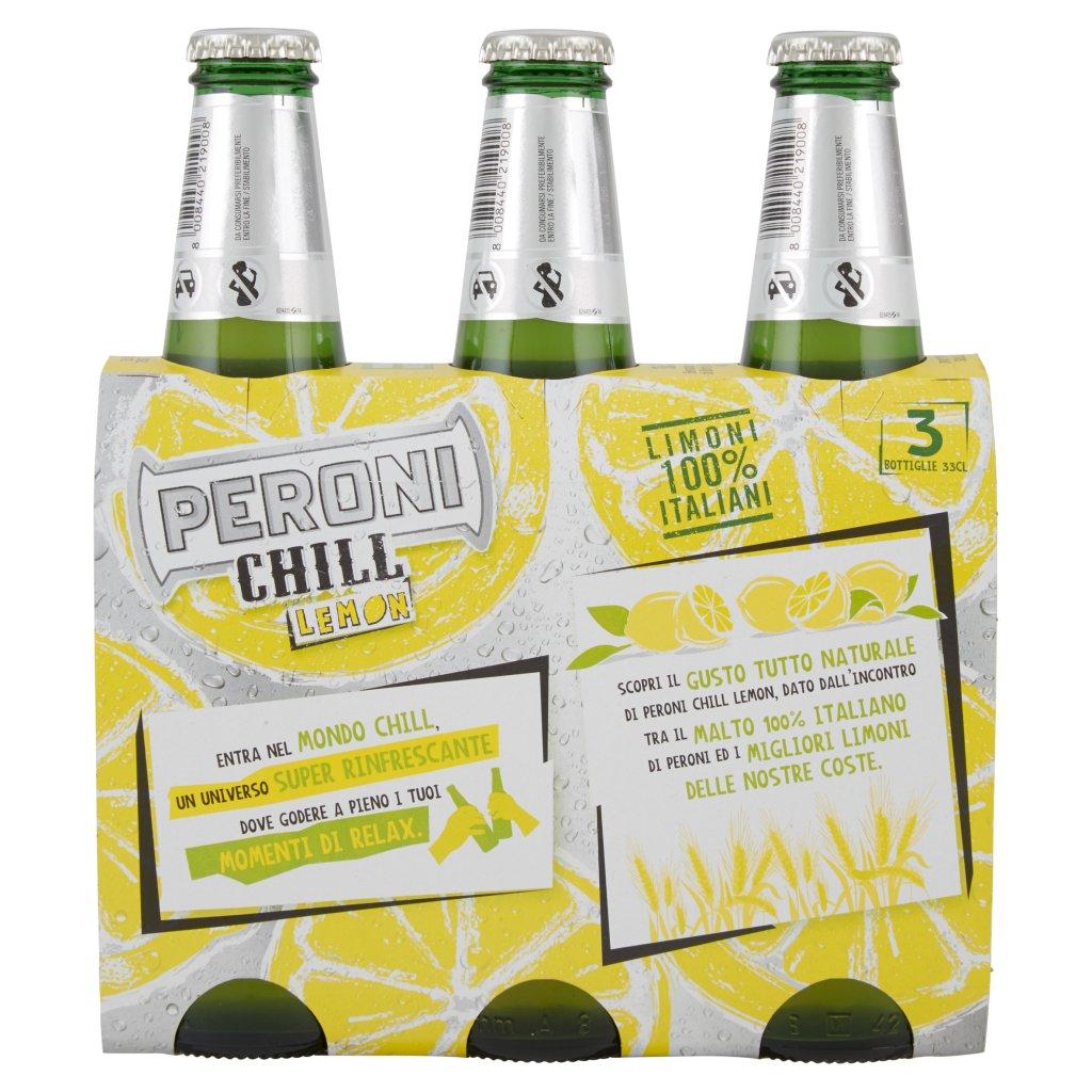 Peroni Chill Lemon Confezione 3X33Cl 2