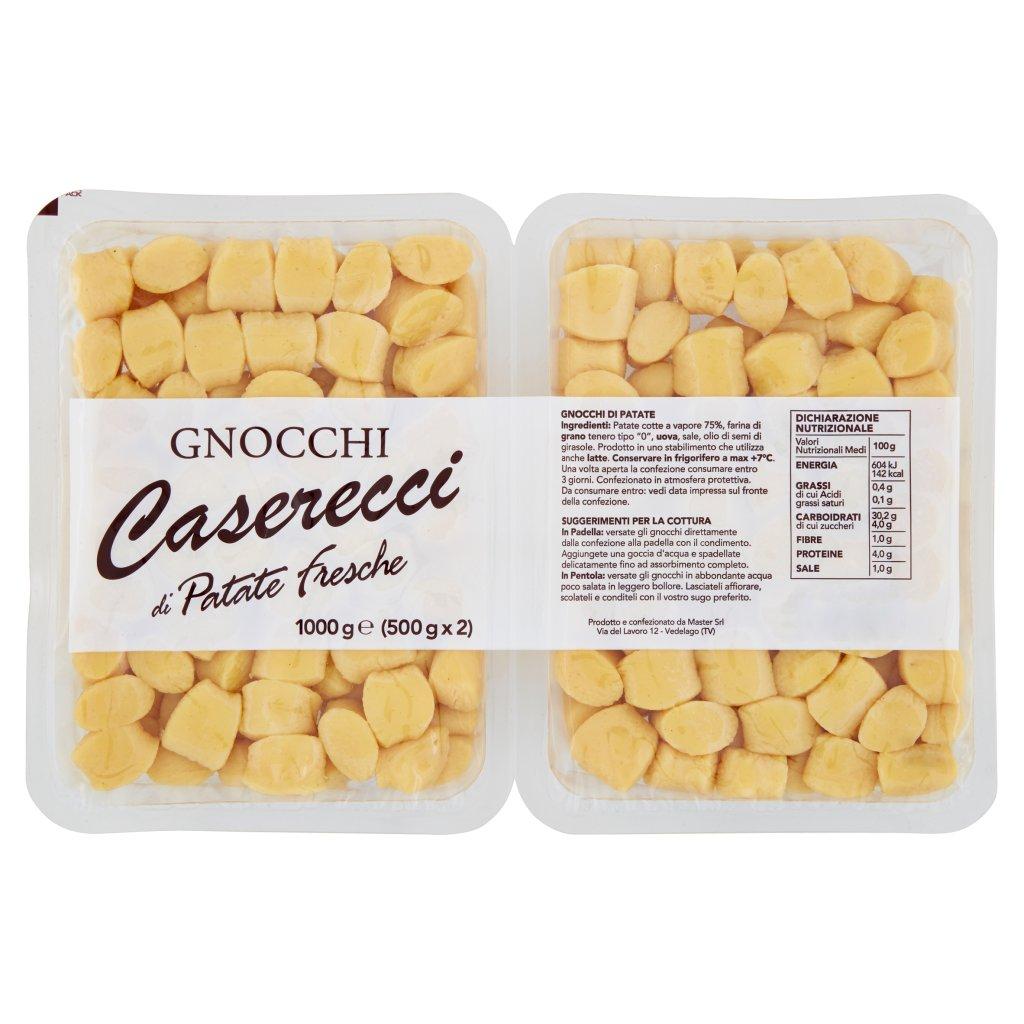 Master Gnocchi Caserecci di Patate Fresche 2 x 500 g