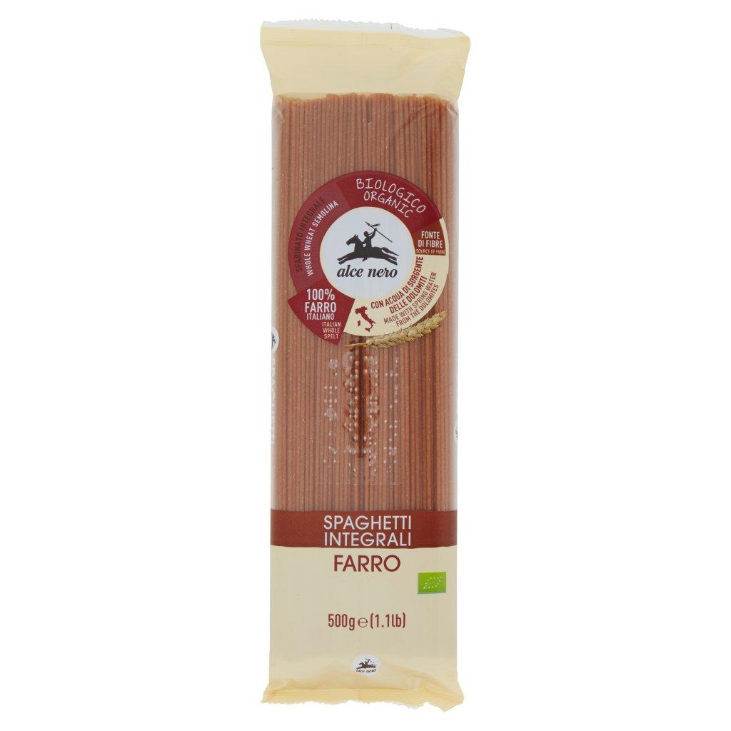 Alce Nero Spaghetti Integrali Farro