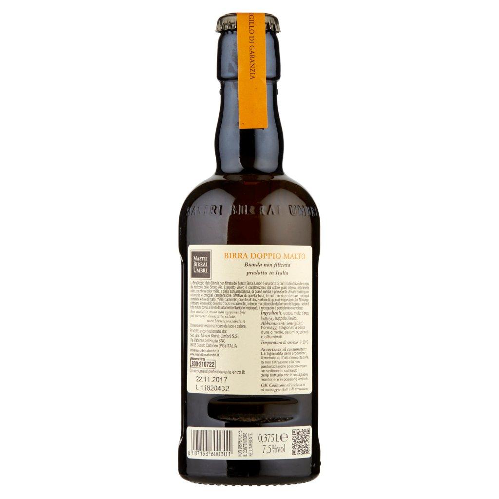Mastri Birrai Umbri Cotta 68 Birra Doppio Malto Bionda Non Filtrata 0,375 l