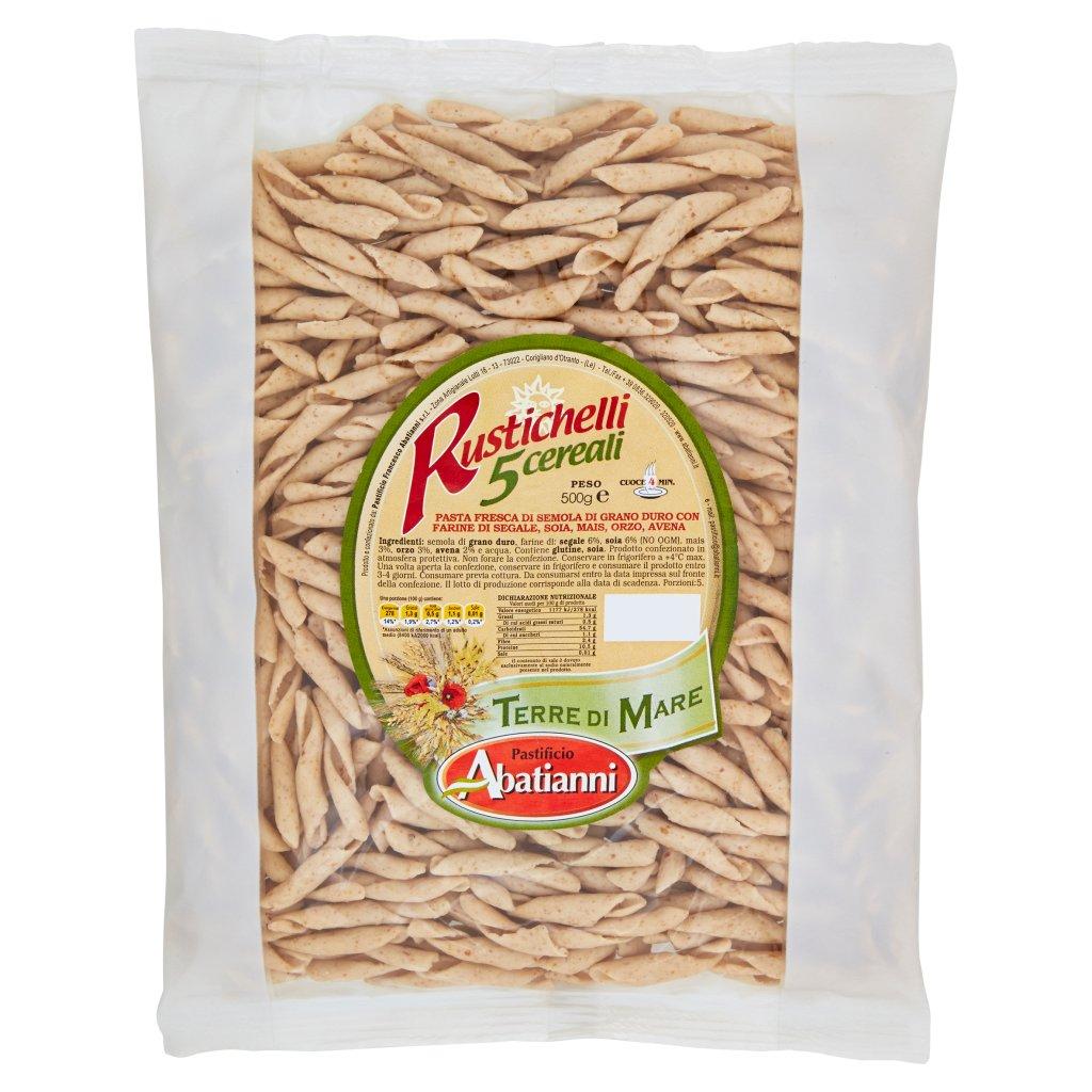 Pastificio Abatianni Terre di Mare Rustichelli 5 Cereali