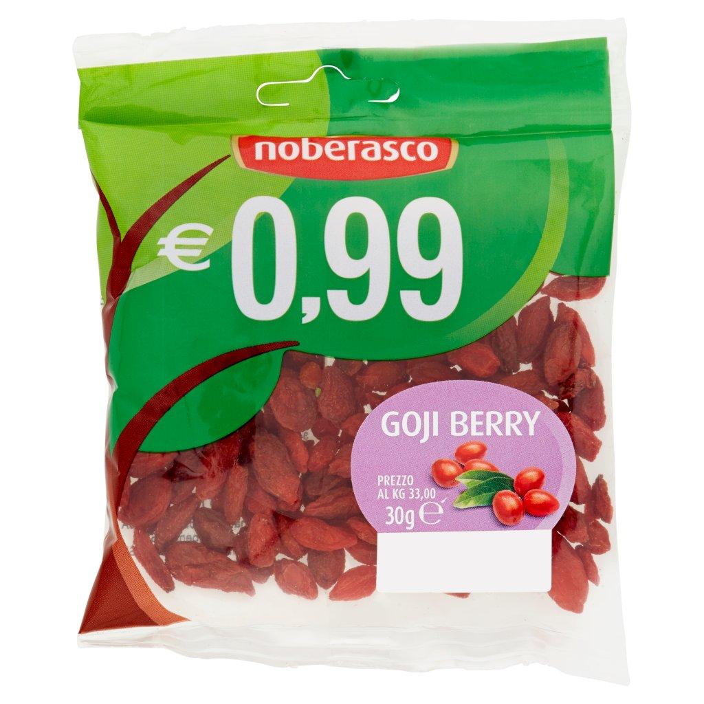 Noberasco € 0,99 Goji Berry Confezione 30 G 1