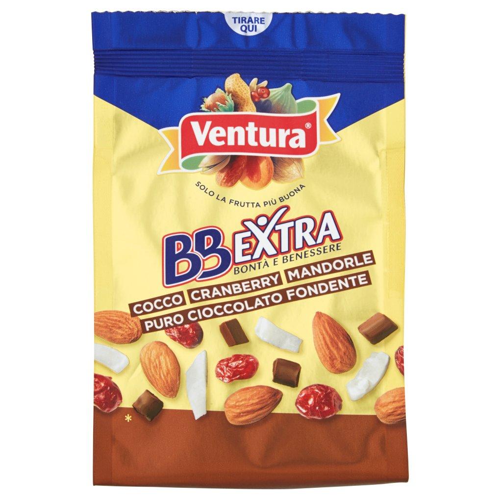 Ventura Bbextra Cocco/cranberry/mandorle/puro Cioccolato Fondente Confezione 150 G 1