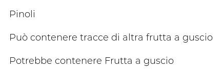 F.lli Rebecchi Valtrebbia Delizie di Frutta Secca Pinoli Prima Qualità Confezione 50 G 5