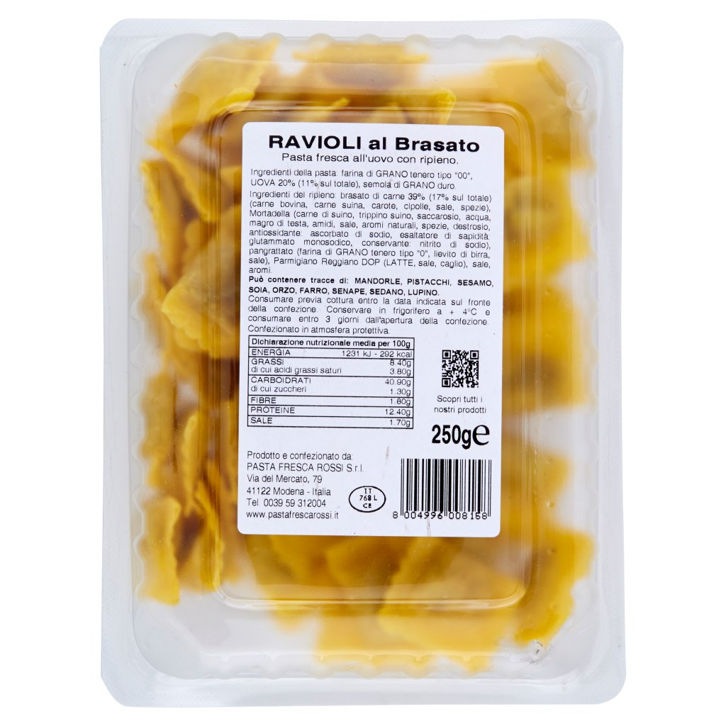 Pasta Fresca Rossi Ravioli al Brasato