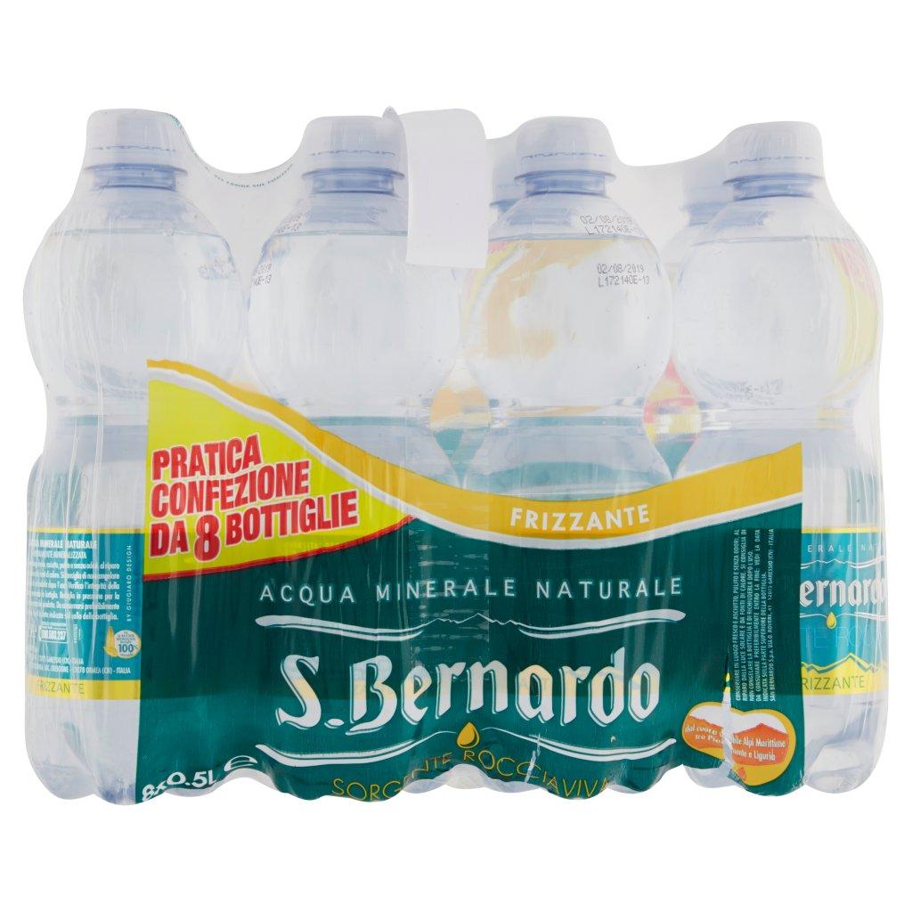 S.bernardo Sorgente Rocciaviva Frizzante 8 x 0.5l