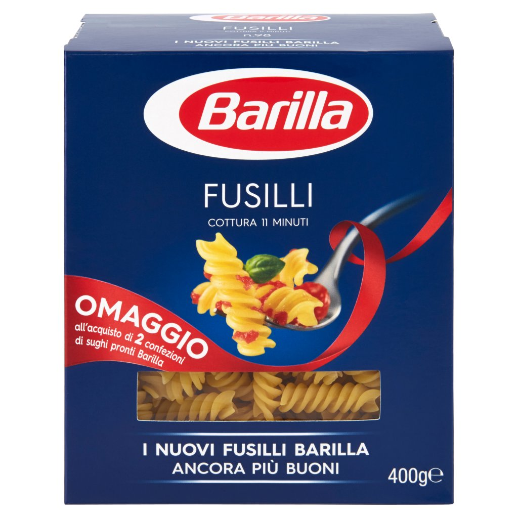 Barilla Fusilli N.98