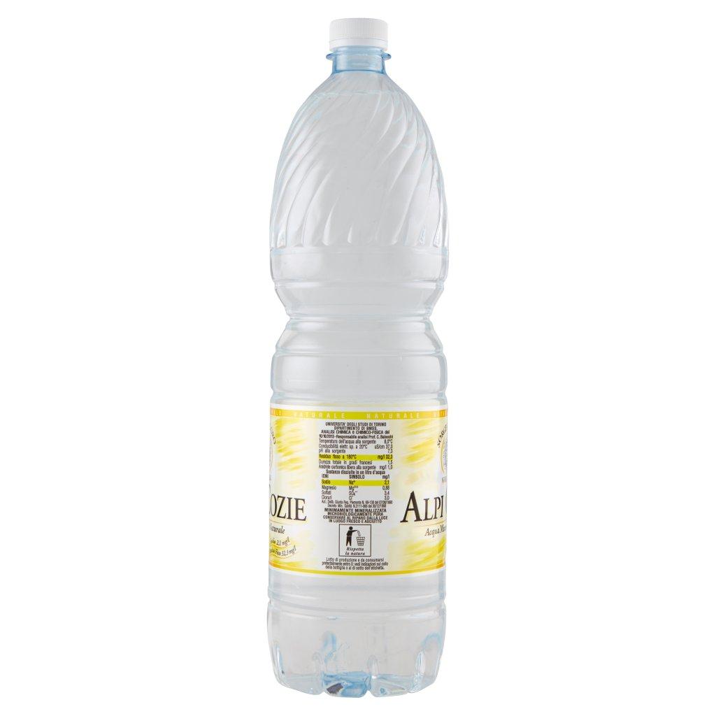 Alpi Cozie Acqua Minerale Naturale Sorgente Oro 1,5 l
