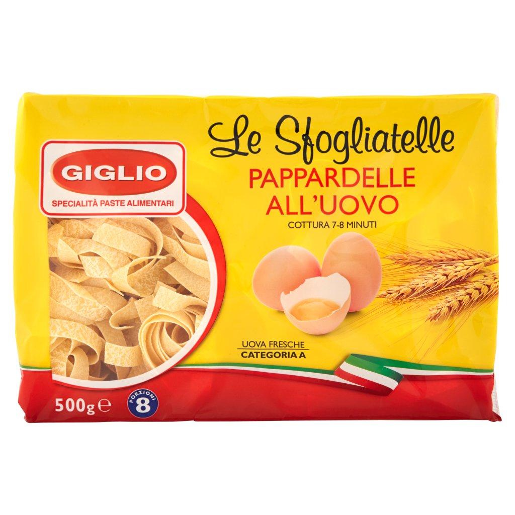 Giglio Le Sfogliatelle Pappardelle all'Uovo 116