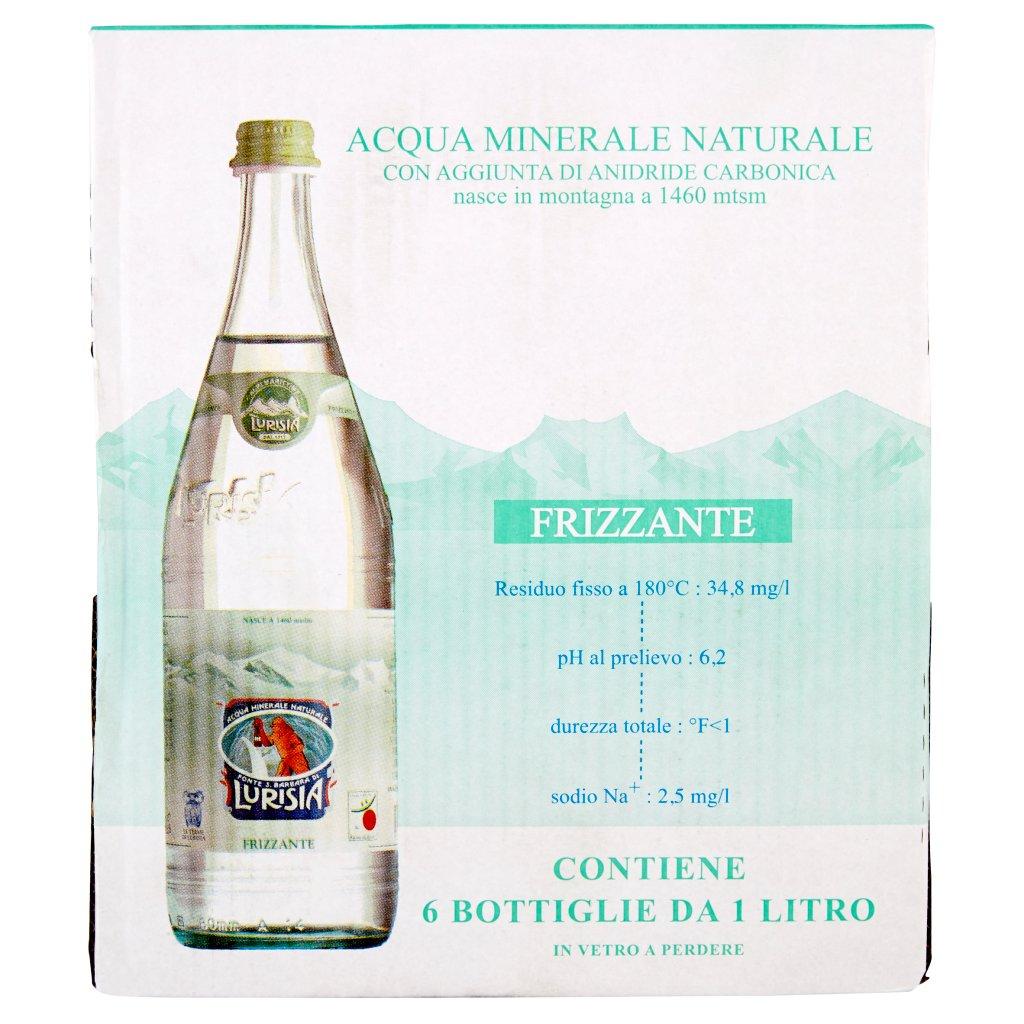 Lurisia Acqua Minerale Naturale Frizzante Fonte S.Barbara di
