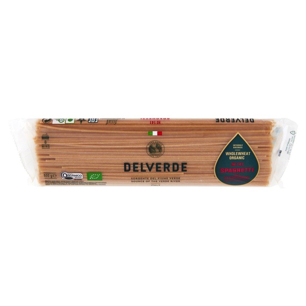 Delverde Integrale Biologica No 141 Spaghetti