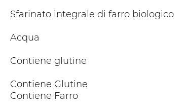 Alce Nero Penne Rigate Integrali Farro