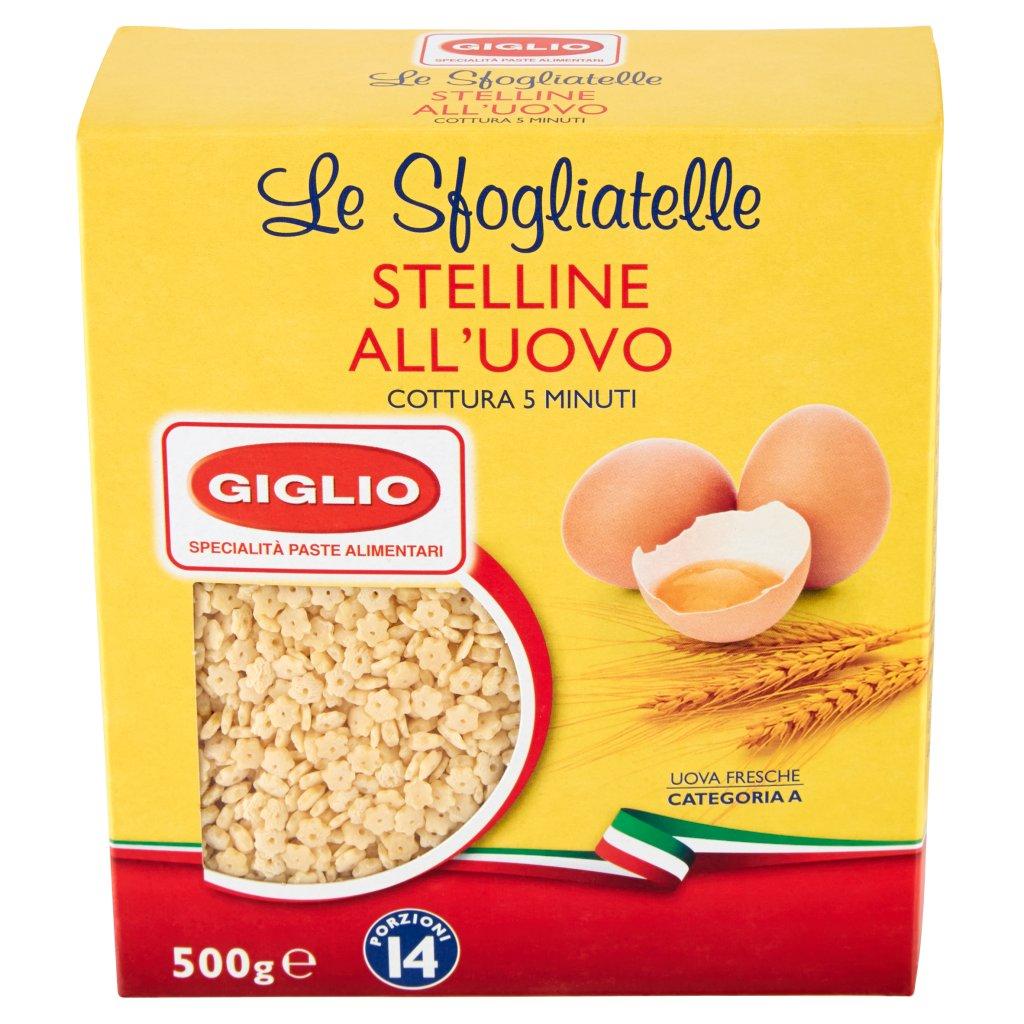 Giglio Le Sfogliatelle Stelline all'Uovo 141