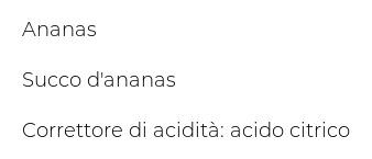 Valfrutta Ananas in Succo d'Ananas
