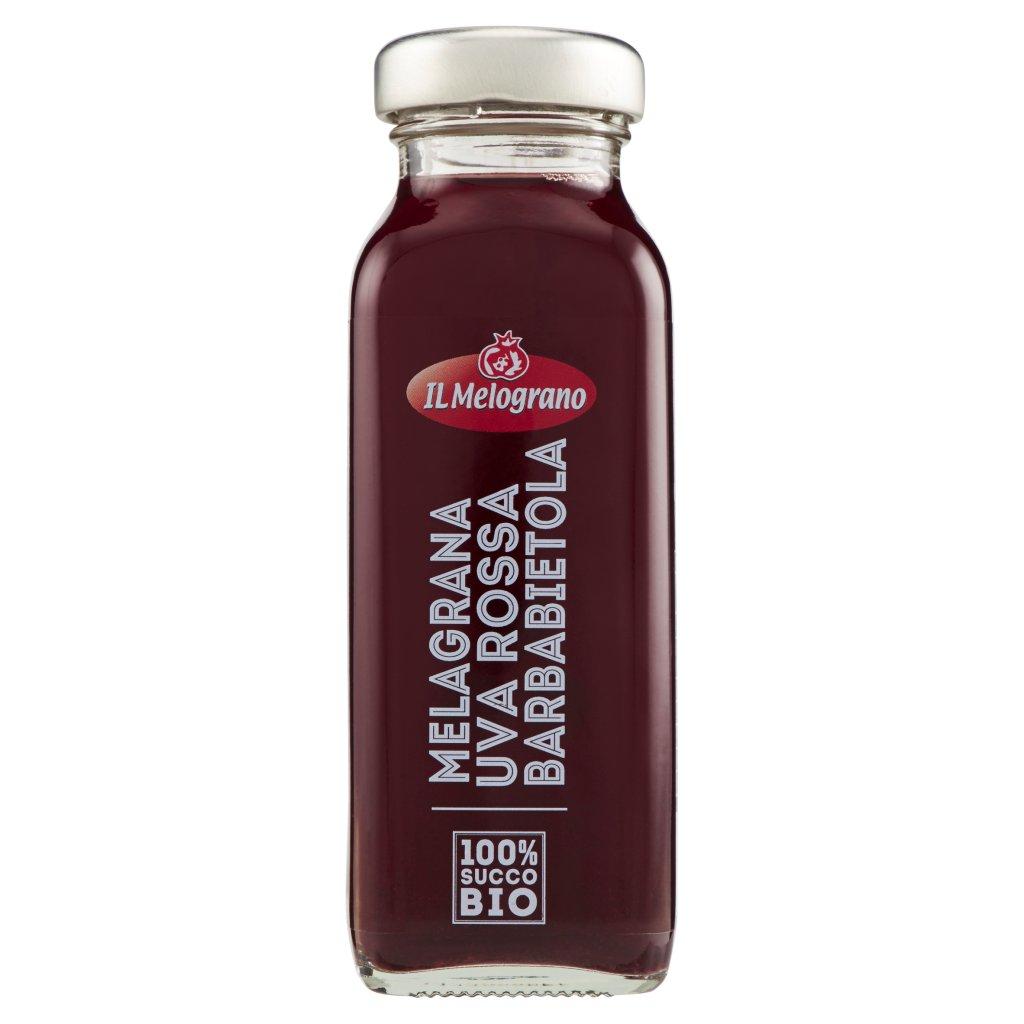 Il Melograno Melagrana Uva Rossa Barbabietola 100% Succo Bio