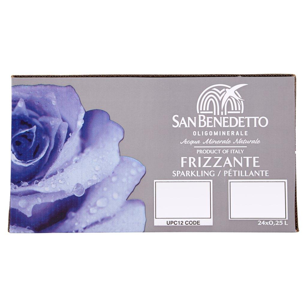 San Benedetto Acqua Minerale Benedicta Prestige Frizzante 24 x 0,25l Vap Confezione 24 Bottiglie Da 0,25 L 1