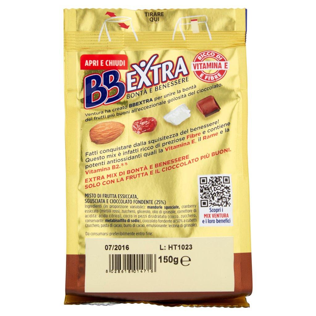 Ventura Bbextra Cocco/cranberry/mandorle/puro Cioccolato Fondente Confezione 150 G 2