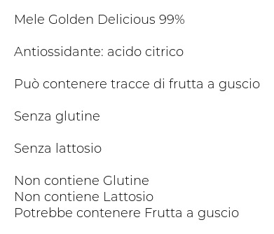 Gilli Mela-chips Anelli di Mela Golden Delicious