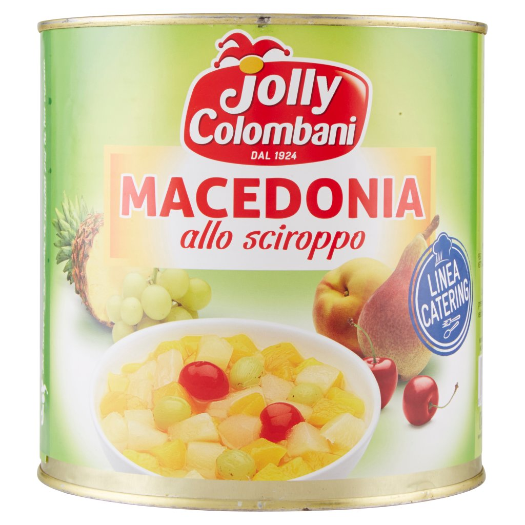 Jolly Colombani Linea Catering Macedonia allo Sciroppo