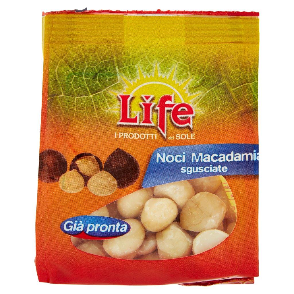 Life Noci Macadamia Sgusciate