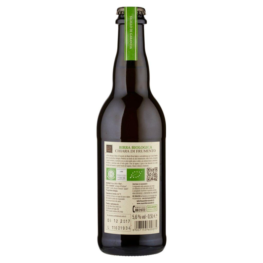 Mastri Birrai Umbri Bio Birra Biologica Chiara di Frumento 0,5 l