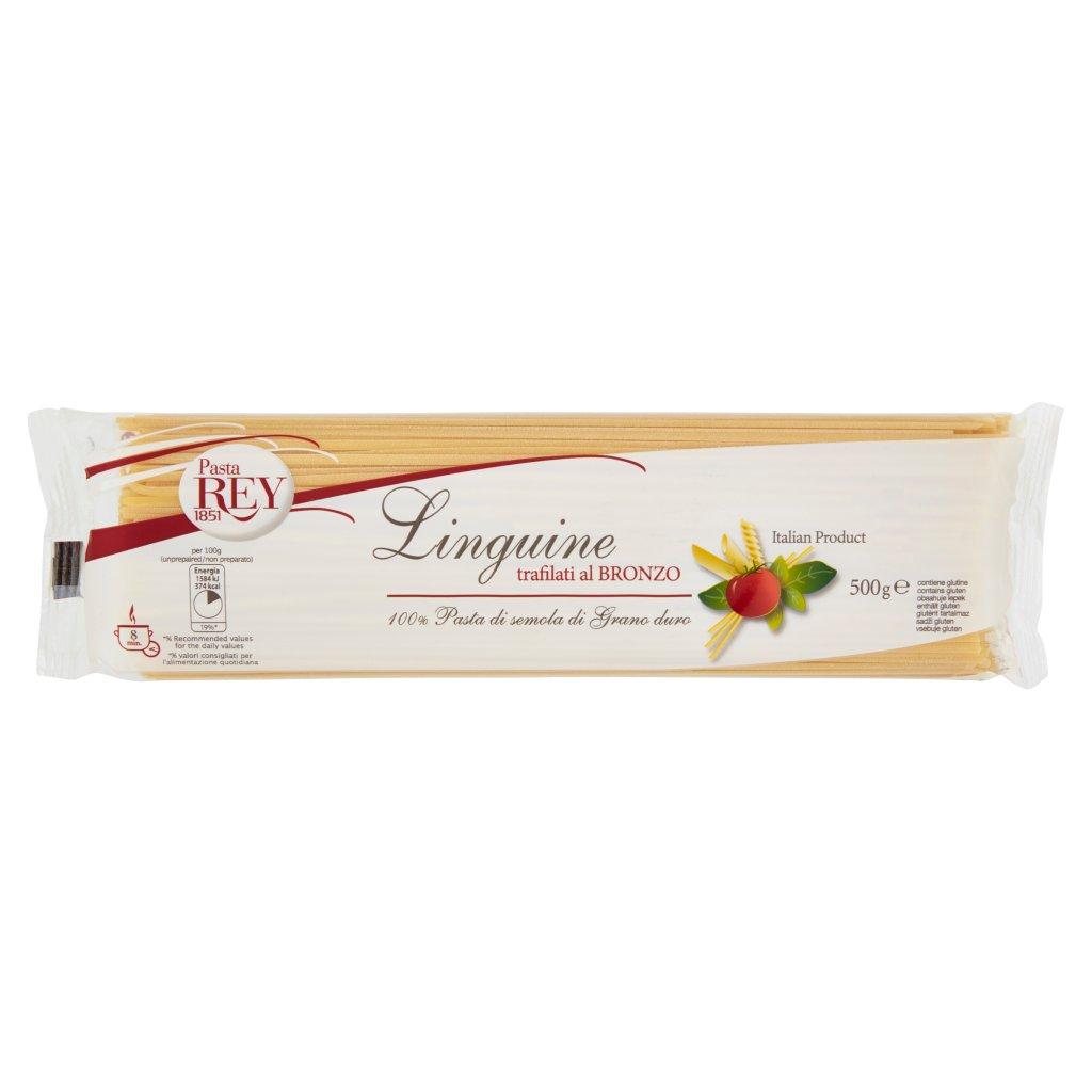 Pasta Rey Linguine Trafilati al Bronzo