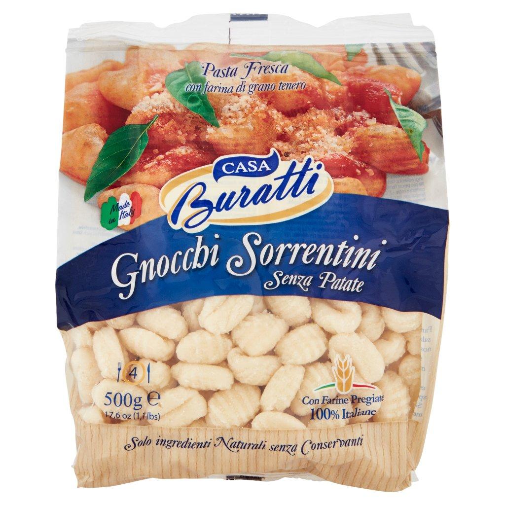 Casa Buratti Gnocchi Sorrentini senza Patate