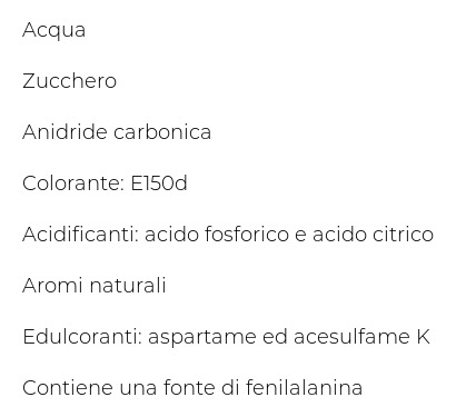 Ilaria Cola senza Caffeina 1,5 l