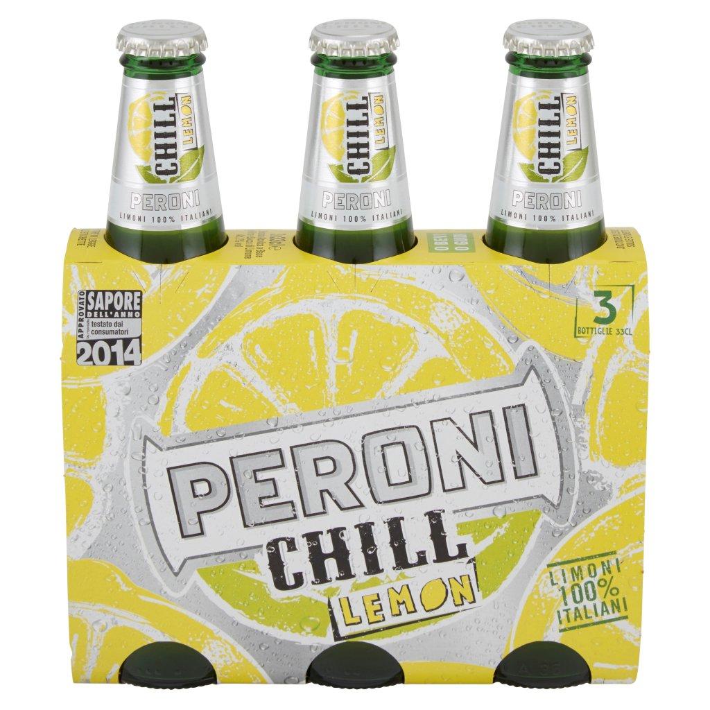 Peroni Chill Lemon Confezione 3X33Cl