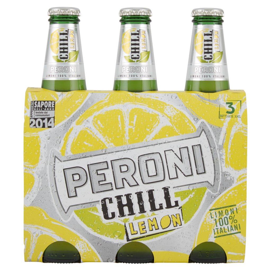 Peroni Chill Lemon Confezione 3X33Cl 1