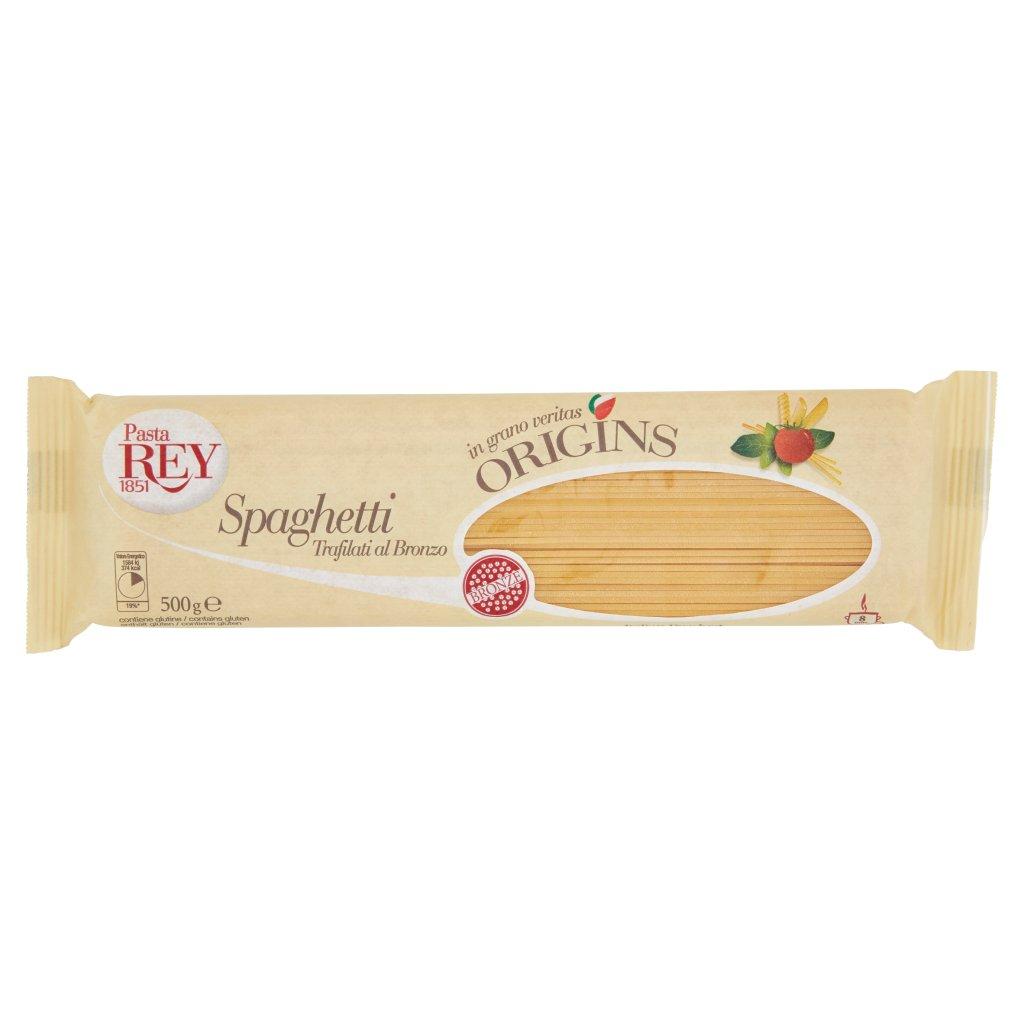 Pasta Rey Spaghetti Trafilati al Bronzo