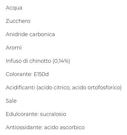 San Benedetto Con Infuso di Chinotto 6 x 0,75 l