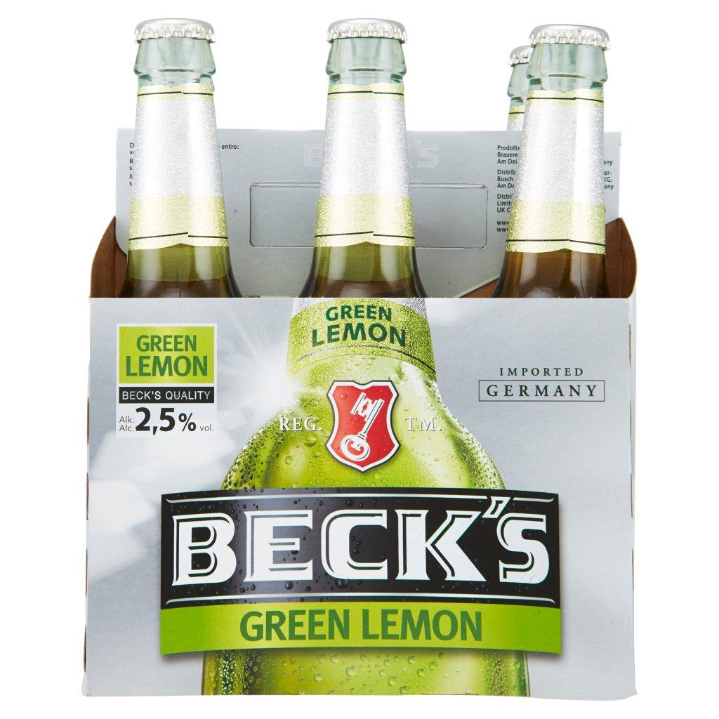 Beck's Green Lemon 6 x 0,33 l