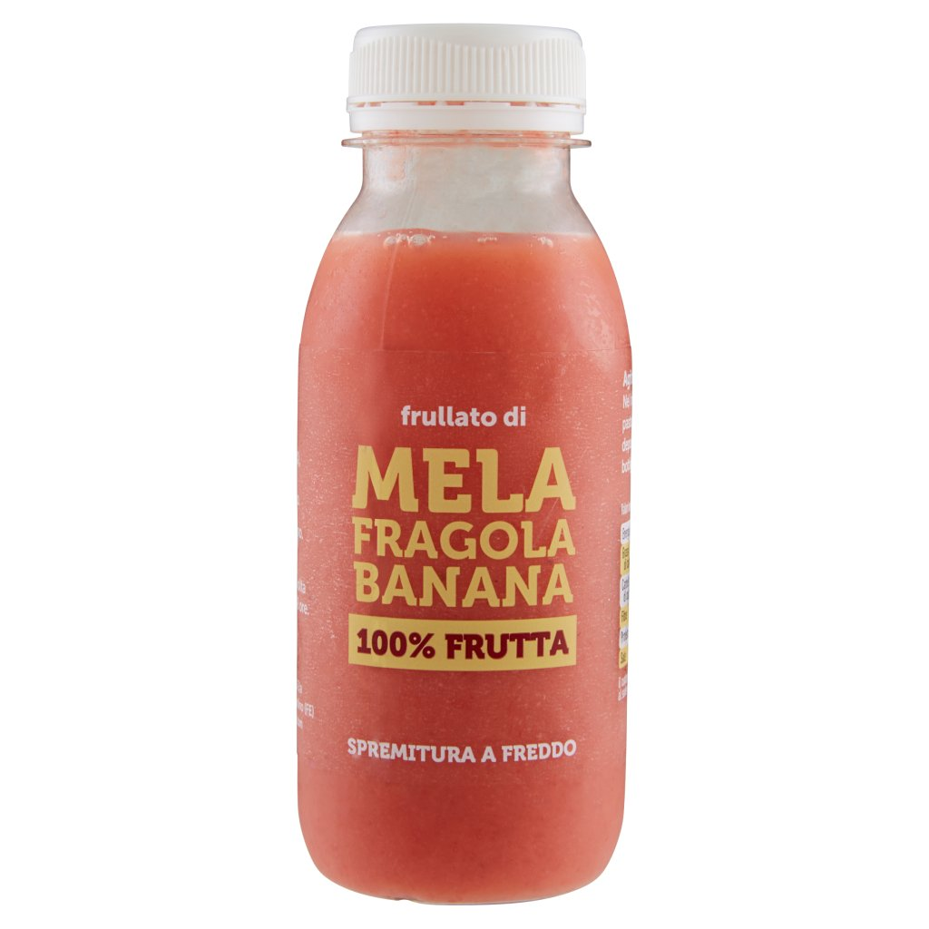 Macè Frullato di Mela Fragola Banana 100% Frutta